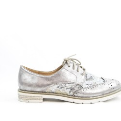 Derby silver lace detail