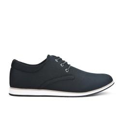Chaussure confort noire à lacet