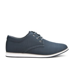 Gray comfort shoe with lace