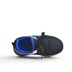 Basket noir à lacet