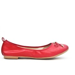 Ballerine rouge en grande taille