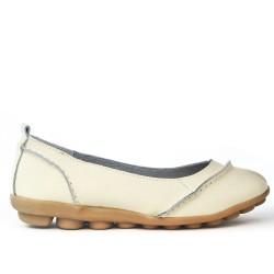 Zapato de confort en piel
