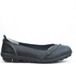 Disponible en 5 colores Zapato de confort en piel