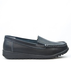 Women's leather loafer