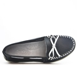 Available in 6 colors Loafer leather moccasin