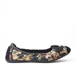 Disponible en 9 colores Bailarina grande de estampado floral