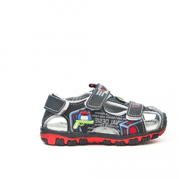 Sandalia para niños con punta cerrada