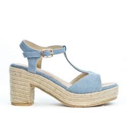 Sandale en jean