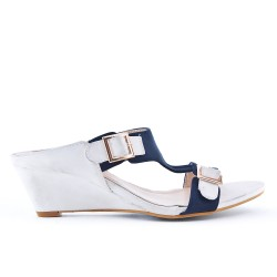 Two-color large wedge mule