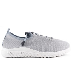 Gray sneaker with lace in big size