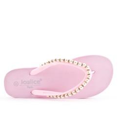 Pink jewelry pin