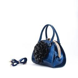 Handbag with flower