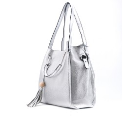 Handbag with shoulder strap