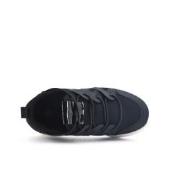 Basket enfant noire en tissu extensible