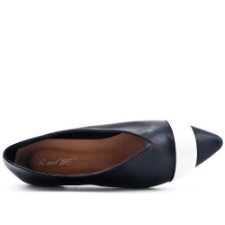 Black ballerina with pointed toe