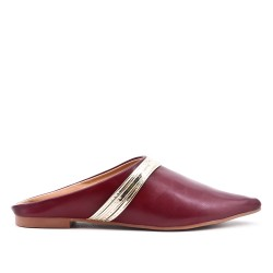 Red slate with pointed toe