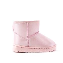 Botín de niña rosa