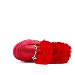 Tennis girl stuffed red