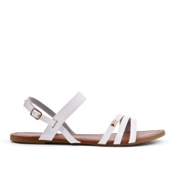 White sandal in large size