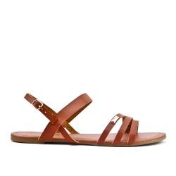 Camel sandal in large size