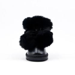 Black girl bootie with tassel