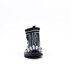 Black girl bootie with sock sock