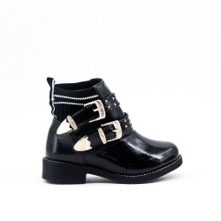 Black girl bootie with curly bridle