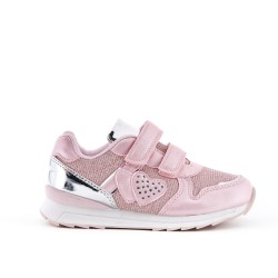 Pink heart girl sneaker