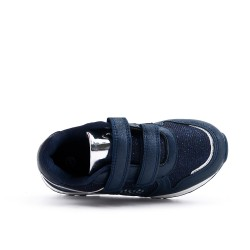 Blue heart girl sneaker