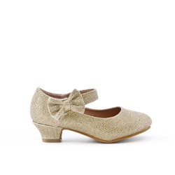Babies golden girl with heel