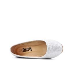 Chaussure argent compensé pour fille