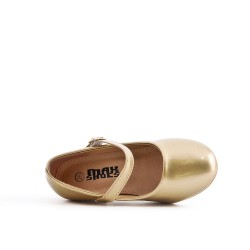 Babies golden girl with heel