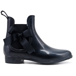 Rain boot in black