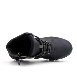 Botte noire à lacet