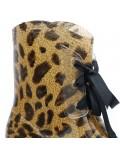 Botte de pluie léopard