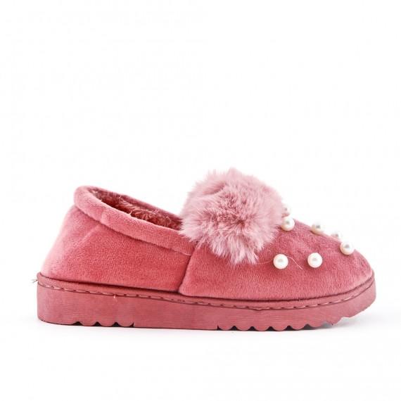 Pearl lined women's slipper