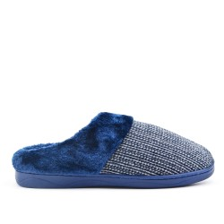 Filled slipper for men