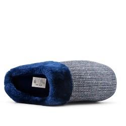 Filled slipper for men