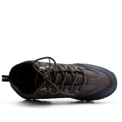 Brown lace up shoe