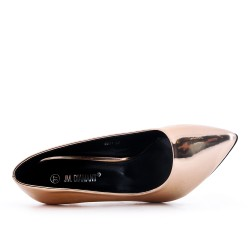 High Heel Champagne Pump