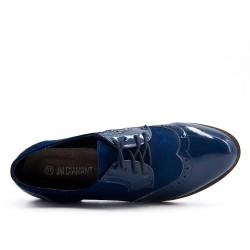Derby blue bi-material