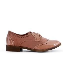 Two-material pink derby