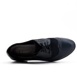 Bi-material black derby