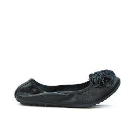 Ballerine noire confort en grande taille