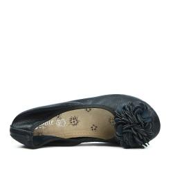 Grande taille - Ballerine noire confort