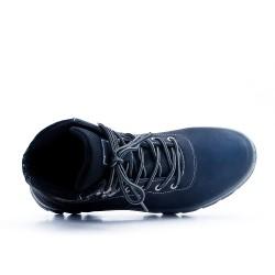 Chaussure sport noire à lacet