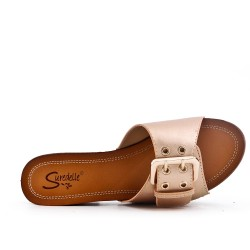 Large size 38-43 - Gold buckle with buckle