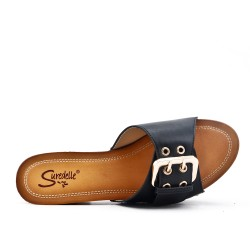 Big size 38-43 - Black buckle clasp