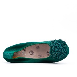 Ballerina verda comfort de gran tamaño