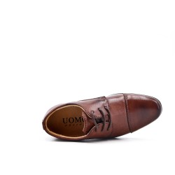 Derby child lace-up tobacco